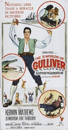 The 3 Worlds of Gulliver - Movie Poster (xs thumbnail)