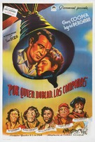 For Whom the Bell Tolls - Argentinian Movie Poster (xs thumbnail)