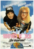 Wayne's World - Spanish Movie Poster (xs thumbnail)