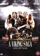 A Viking Saga - British Movie Cover (xs thumbnail)