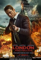 London Has Fallen - Indian Movie Poster (xs thumbnail)