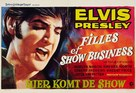 The Trouble with Girls - Belgian Movie Poster (xs thumbnail)