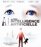 Artificial Intelligence: AI - French Blu-Ray movie cover (xs thumbnail)