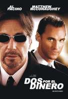 Two For The Money - Argentinian DVD cover (xs thumbnail)