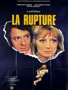La rupture - French Movie Poster (xs thumbnail)