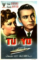 Love Affair - Spanish Movie Poster (xs thumbnail)