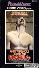 Blood for Dracula - Australian VHS movie cover (xs thumbnail)