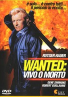 Wanted Dead Or Alive - Italian DVD cover (xs thumbnail)