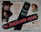 The Thirteenth Hour - Movie Poster (xs thumbnail)