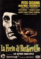 The Hound of the Baskervilles - Italian Movie Poster (xs thumbnail)