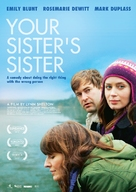 Your Sister's Sister - Swiss Movie Poster (xs thumbnail)