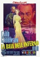 Hell on Frisco Bay - Italian Movie Poster (xs thumbnail)