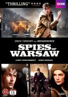 Spies of Warsaw - Danish DVD cover (xs thumbnail)