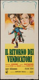 The Bandits of Corsica - Italian Movie Poster (xs thumbnail)