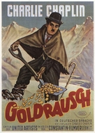 The Gold Rush - German Theatrical movie poster (xs thumbnail)