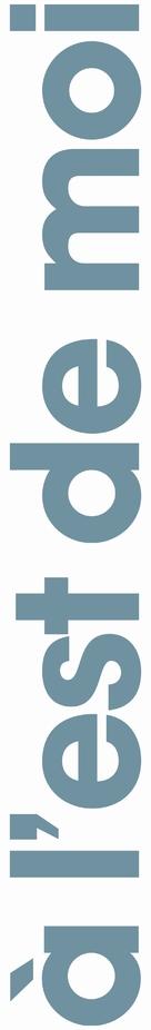 À l'est de moi - French Logo (xs thumbnail)