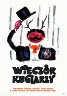 Gycklarnas afton - Polish Movie Poster (xs thumbnail)