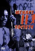 Menace II Society - German DVD cover (xs thumbnail)