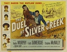 The Duel at Silver Creek - British Movie Poster (xs thumbnail)