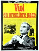 Sbatti il mostro in prima pagina - French Movie Poster (xs thumbnail)