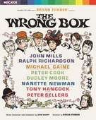 The Wrong Box - British Blu-Ray movie cover (xs thumbnail)