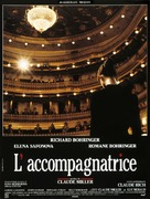 L'accompagnatrice - French Movie Poster (xs thumbnail)