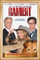 Gambit - British Movie Poster (xs thumbnail)
