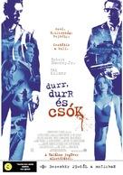 Kiss Kiss Bang Bang - Hungarian Movie Poster (xs thumbnail)
