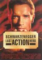 Last Action Hero - German Movie Poster (xs thumbnail)