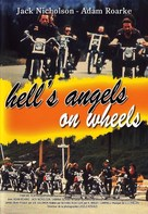 Hells Angels on Wheels - French DVD cover (xs thumbnail)
