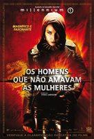 Män som hatar kvinnor - Brazilian Movie Poster (xs thumbnail)