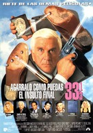 Naked Gun 33 1/3: The Final Insult - Spanish Movie Poster (xs thumbnail)
