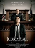 The Judge - Romanian Movie Poster (xs thumbnail)