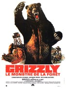 Grizzly - French Movie Poster (xs thumbnail)