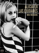 Alice in den Städten - Spanish DVD cover (xs thumbnail)