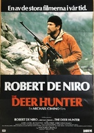 The Deer Hunter - Swedish Movie Poster (xs thumbnail)