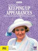 """""""Keeping Up Appearances"""" - Australian DVD movie cover (xs thumbnail)"""