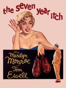 The Seven Year Itch - Movie Poster (xs thumbnail)