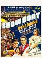 Show Boat - Belgian Movie Poster (xs thumbnail)