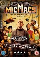 Micmacs à tire-larigot - British DVD movie cover (xs thumbnail)