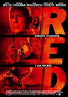 RED - Chilean Movie Poster (xs thumbnail)