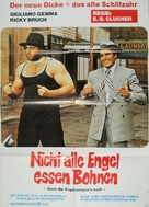 Anche gli angeli tirano di destro - German Movie Poster (xs thumbnail)