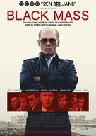 Black Mass - Swedish Movie Poster (xs thumbnail)