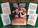 Maverick - British Movie Poster (xs thumbnail)