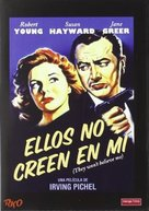 They Won't Believe Me - Spanish DVD cover (xs thumbnail)