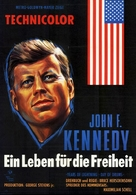 John F. Kennedy: Years of Lightning, Day of Drums - German Movie Poster (xs thumbnail)