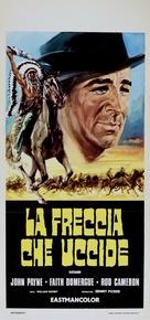 Santa Fe Passage - Italian Movie Poster (xs thumbnail)