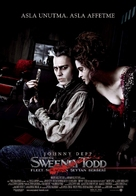 Sweeney Todd: The Demon Barber of Fleet Street - Turkish Movie Poster (xs thumbnail)