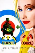 Tank Girl - Advance poster (xs thumbnail)