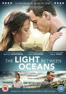 The Light Between Oceans - British DVD movie cover (xs thumbnail)
